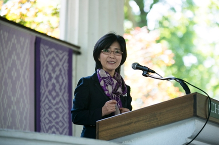 Choi: 'Lend voice to the voiceless' to perceive mystery from themargins