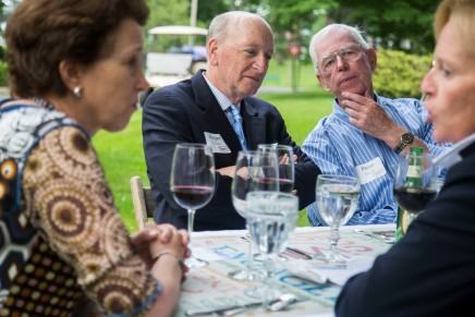 SLIDESHOW: Leaders talk Promise Campaign growth at Foundation dinner