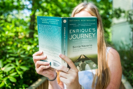After morning lecture, Nazario to retrace 'Enrique's Journey' with Young Readers