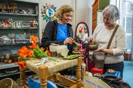 Old concept, new storefront: Chautauqua Fair Trading Company moves to new location inColonnade
