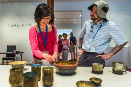 From Clay to Table: experimentation on display