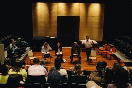 Planting the Seed: Inter-arts meeting grows freshcreativity