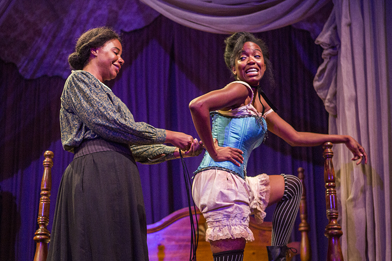 'Intimate Apparel' ladies best friends on, off stage