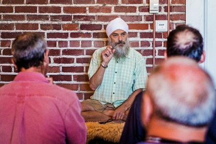 Khalsa teaches peace within