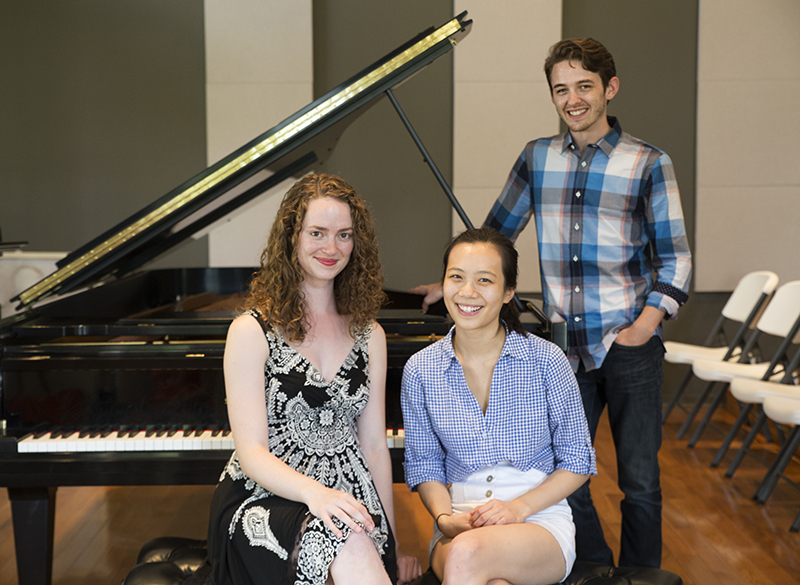 Finding their rhythms: Meet three of the seven 2015 Piano Competition finalists