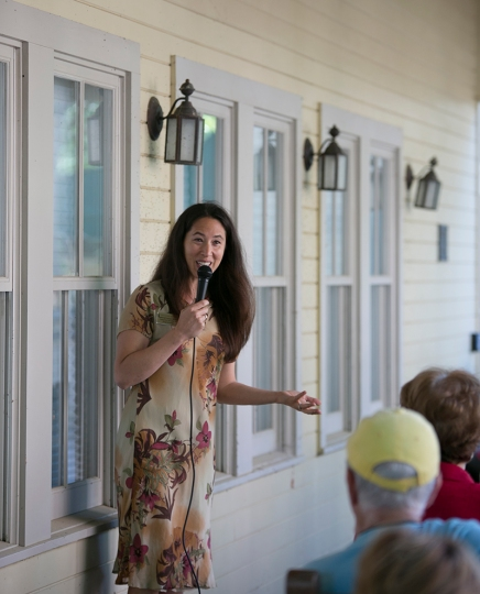 Moore concludes Chautauqua Speaks with arts programming discussion