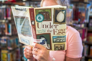 """Under the Egg"" by Laura Marx Fitzgerald is the Young Readers book selection for Week Five. (Photo by Ruby Wallau)"