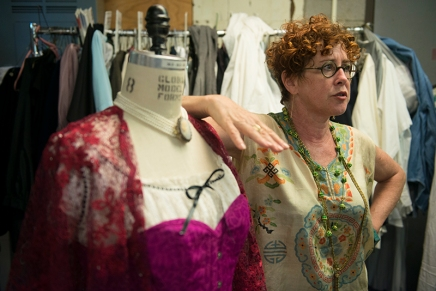 CTC's 'Intimate Apparel' prepares to tie up final threads