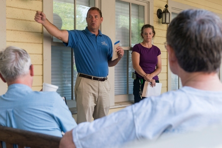 Porch Discussion focuses on stormwater management