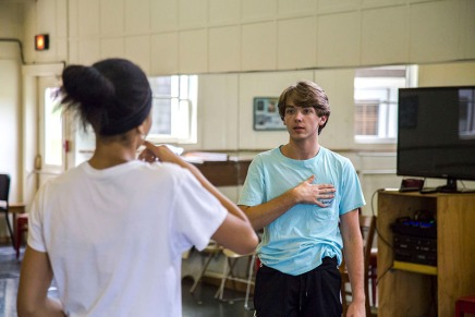 Dance students try their hand at choreography