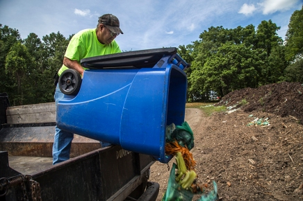Composting at Chautauqua a constant endeavor for grounds department