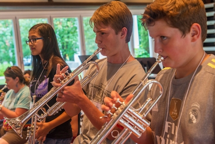 Jamestown's Dibert Foundation underwrites Week Eight Chautauqua Music Camps