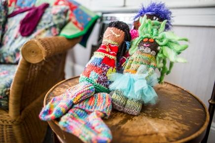 Knitting4Peace provides warmth at home andabroad