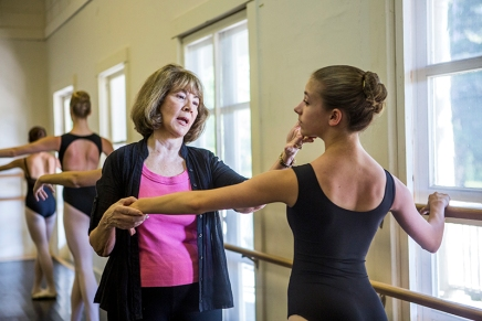 The making  of a dancer: Battaglia, celebrating 50 years of teaching, to give CDClecture