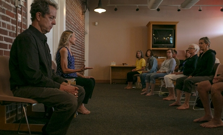 Norton, Smith lead from Sufi tradition in Week Seven Mystic Heart meditation sessions