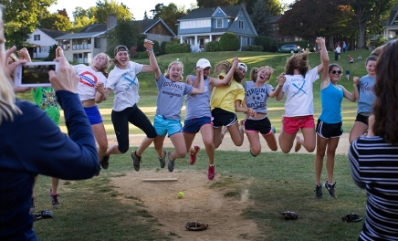 Batgirls swoop in for unlikely victory against Moms